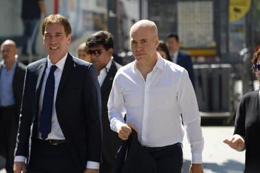 """Con el aval de Larreta, Santilli comenzó a """"caminar"""" la provincia"""