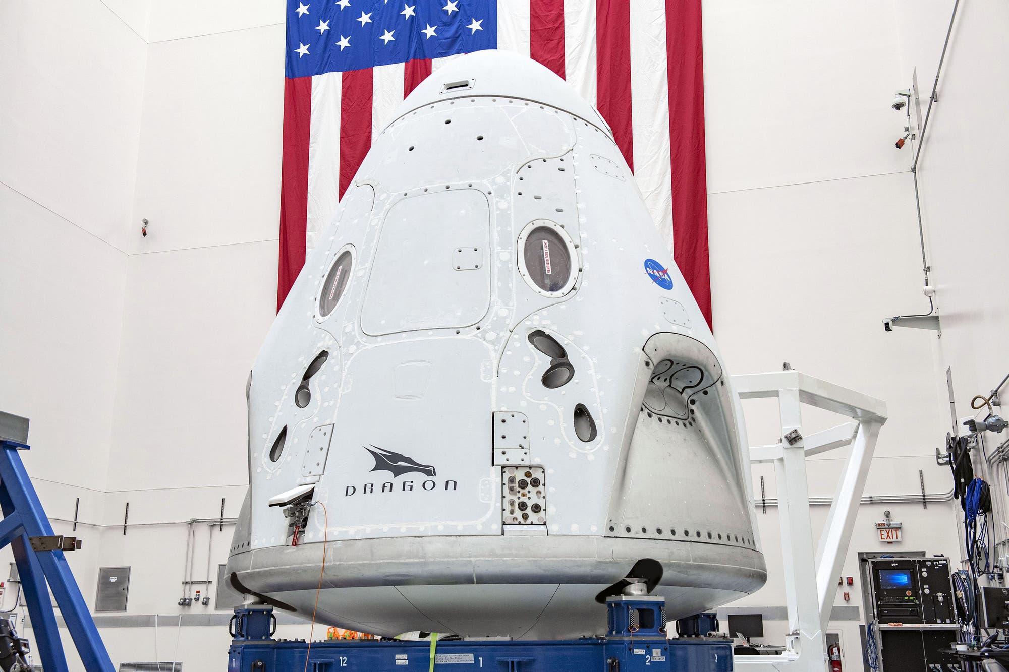 La NASA anuncia el primer lanzamiento tripulado de SpaceX para el 27 de mayo