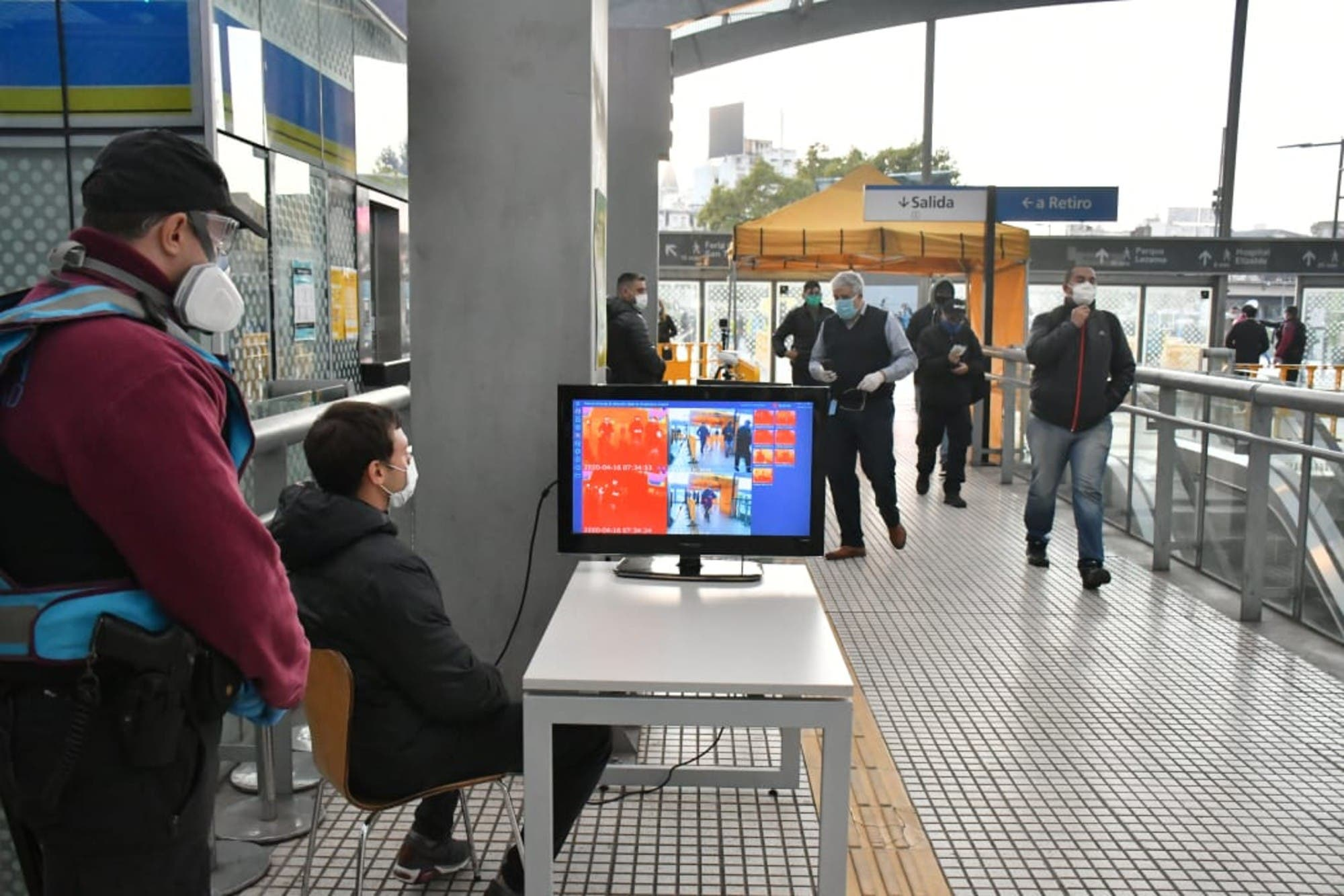 Coronavirus en la Argentina: Comienzan los testeos rápidos en Constitución, Once y Retiro