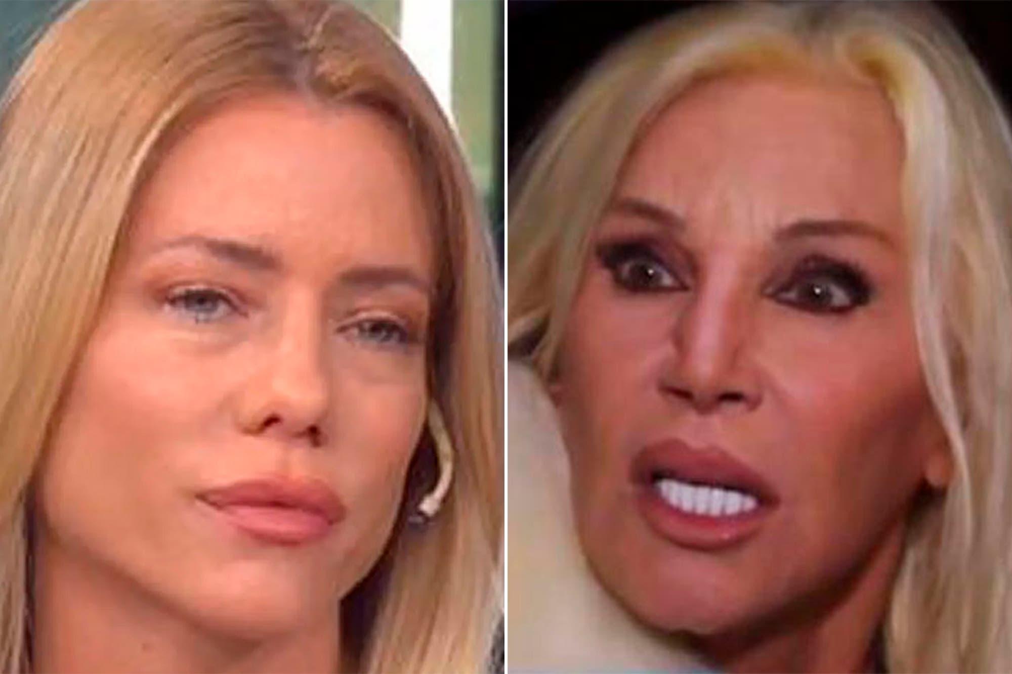 "La dura réplica de Susana Giménez a Nicole Neumann: ""Es una estúpida"""