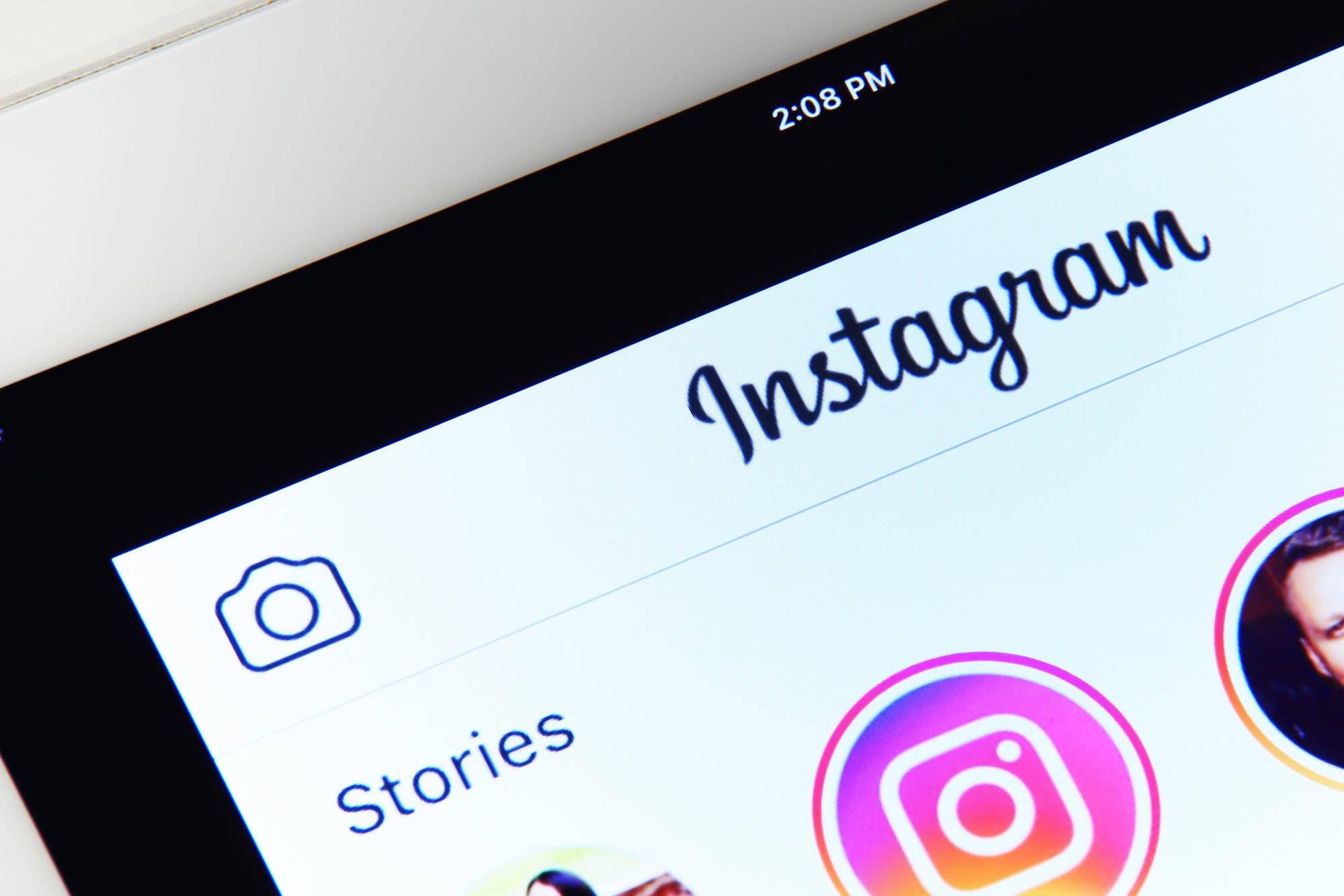 En doble fila: las publicaciones de Instagram Stories ganan lugar en la pantalla principal