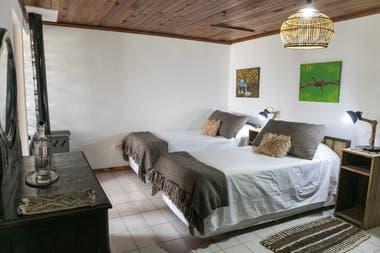 Una de las habitaciones de Chochoy Mallin.