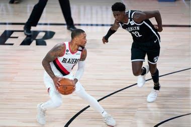 Portland consiguió la chance de jugar el novedoso play-in en gran parte gracias a la formidable actuación de Damian Lillard en la burbuja