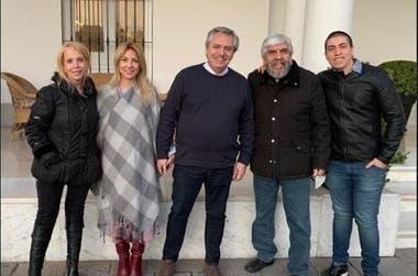 El encuentro al que hizo referencia Carrió sobre la cuarentena de Alberto Fernández