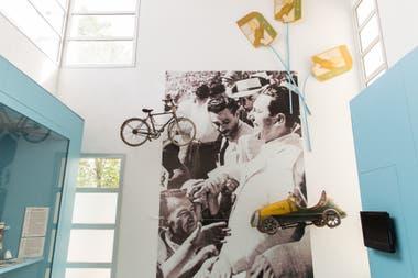 El Museo de Perón, inaugurado en 2008 en la casa de Camarones que habitaron los padres del ex presidente.