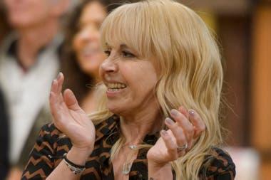 Claudia Villafañe, una de las protagonistas del primer programa de MasterChef Celebrity
