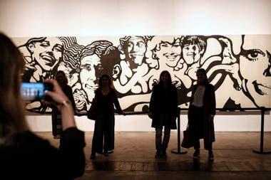 Otros tiempos: obra de Jorge de la Vega vendida en la última edición de arteBA por una cifra estimada en 1,3 millón de dólares