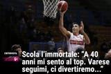 """Luis Scola, para La Gazzetta dello Sport, es """"El inmortal"""""""