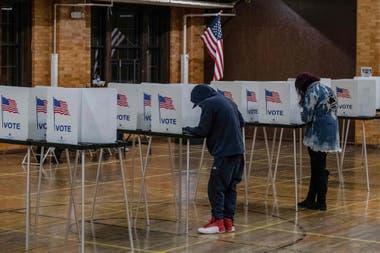 Votantes en Michigan