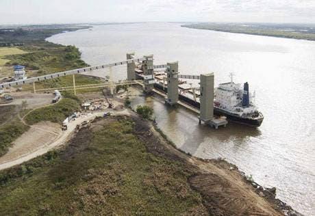 Resultado de imagen para puerto de Ramallo