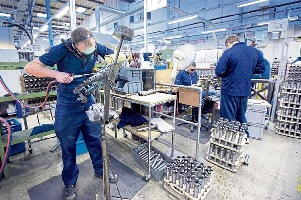 Brompton produce las bicicletas en su país