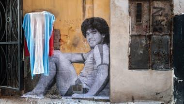 Mural Maradona Buenos Aires