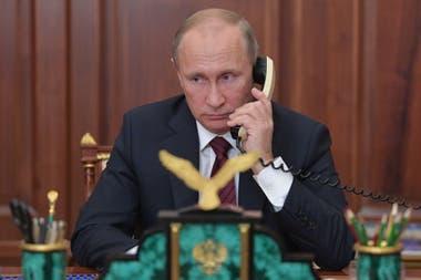 Vladimir Putin, mandatario ruso, condenó los ataques en Siria