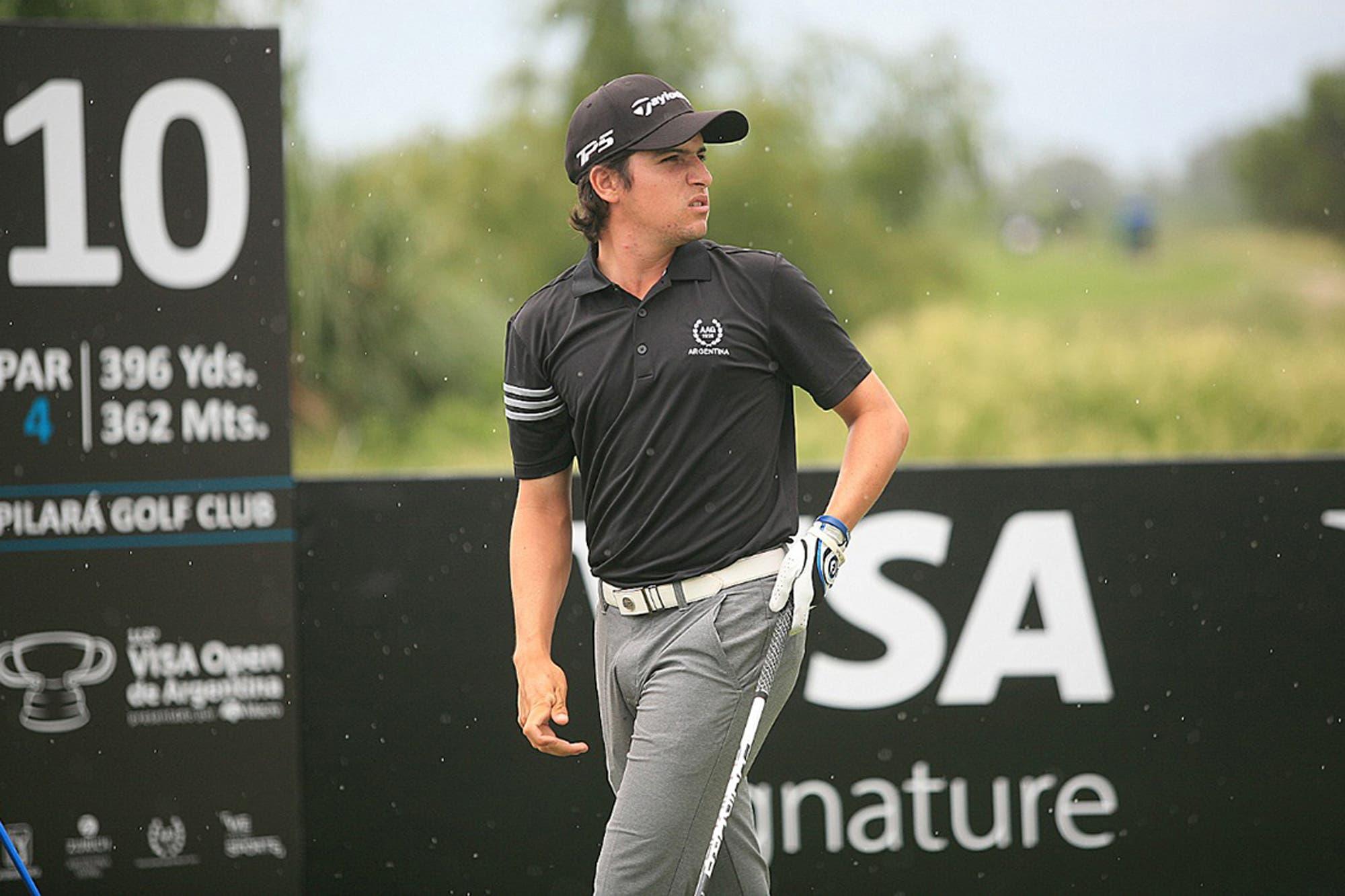 Mateo Fernández de Oliveira: el único amateur que superó el corte en el Abierto de golf y quiere volar alto