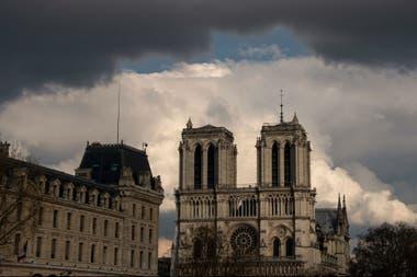 La fachada de Notre Dame