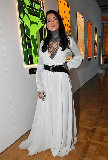 Lelé Tinelli fue otra de las artistas invitadas a cantar