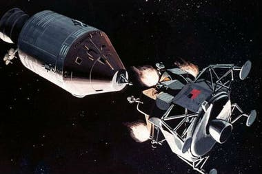 Una posibilidad es que, al mezclarse con la atmósfera del módulo espacial, el polvo lunar se oxida