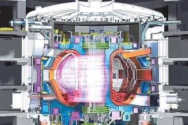 Por el interior circulará un plasma a 150 millones de grados