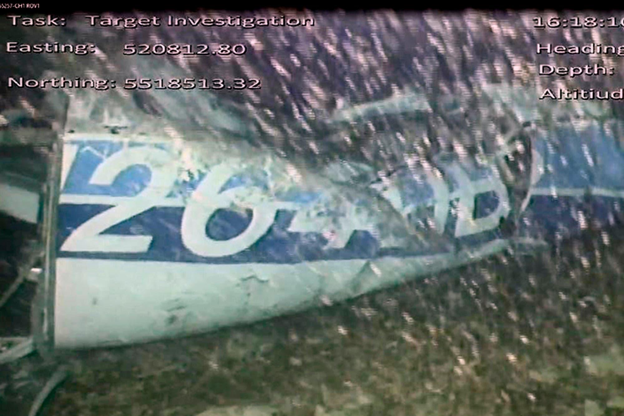 Desaparecieron los restos del fuselaje del avión donde falleció Emiliano Sala