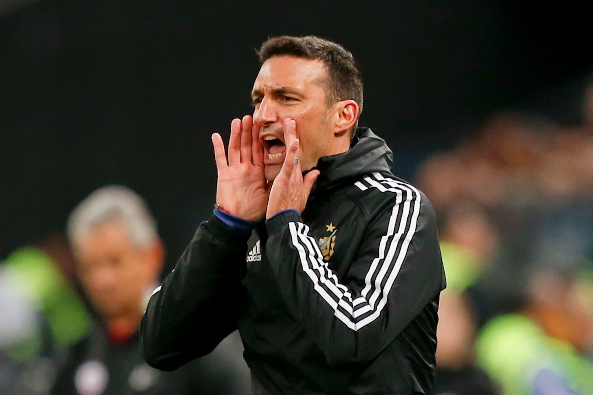 Selección argentina: por lesiones, suspensiones y acuerdos, Lionel Scaloni no cumplirá con su palabra