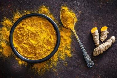 La cúrcuma también se usa en el curry