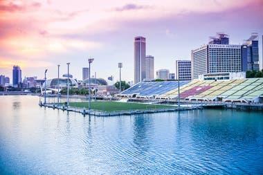 El Marina Bay, en Singapur, es el estadio flotante mas grande del mundo