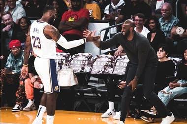 LeBron James y Kobe Bryant tenían una amistad que se fortaleció con los años