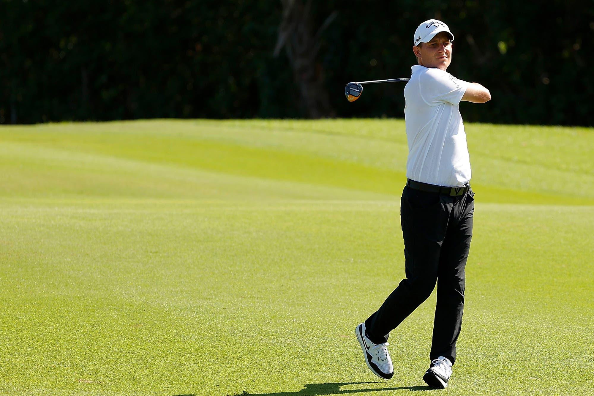 Emiliano Grillo comparte el liderazgo del Abierto de Puerto Rico en el PGA Tour, tras la segunda jornada