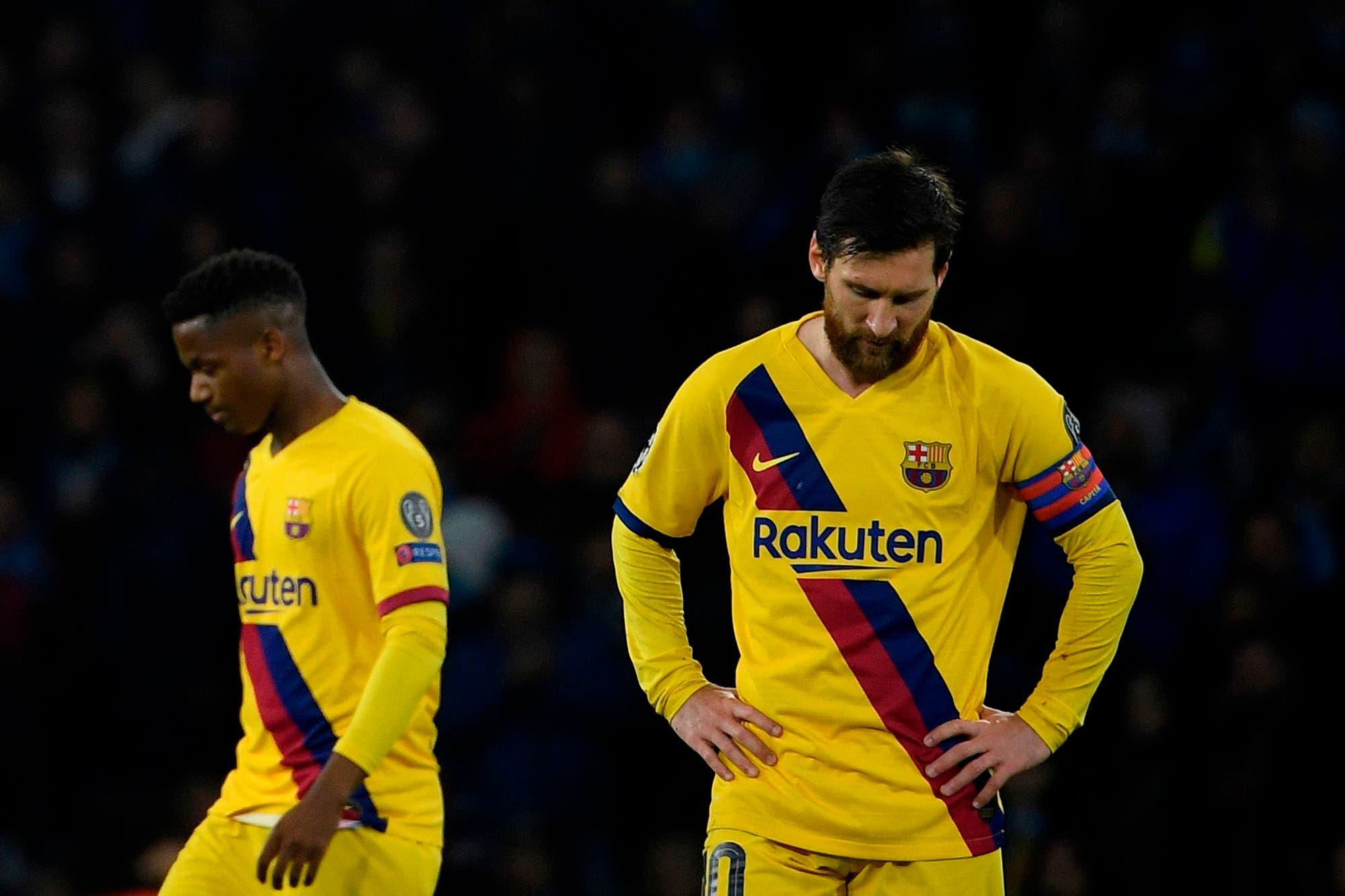Messi pasó por primera vez por el San Paolo sin emular a Maradona ni al mejor Messi