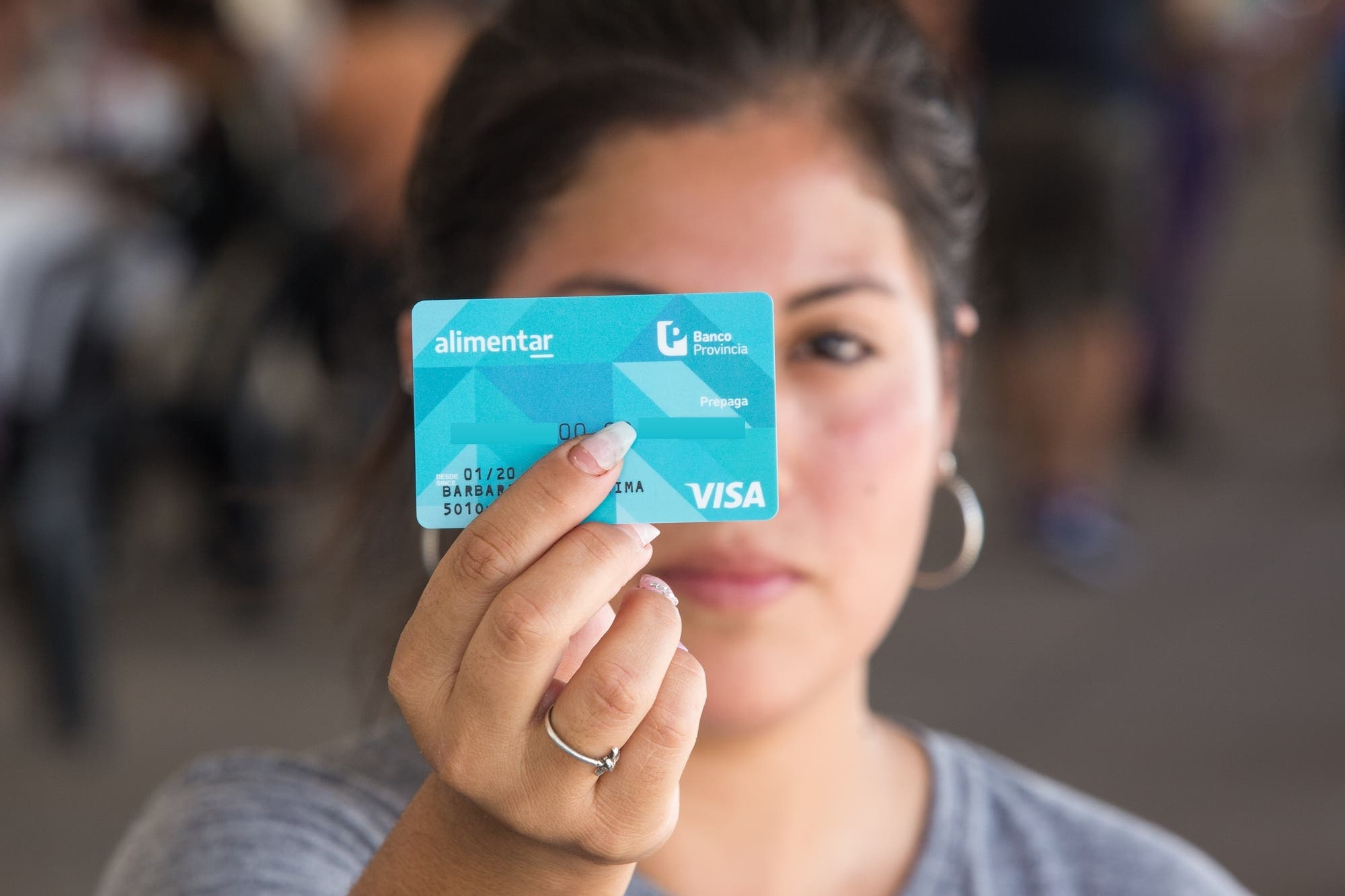 La tarjeta Alimentar se podrá usar desde el celular y permitirá comprar con un código QR