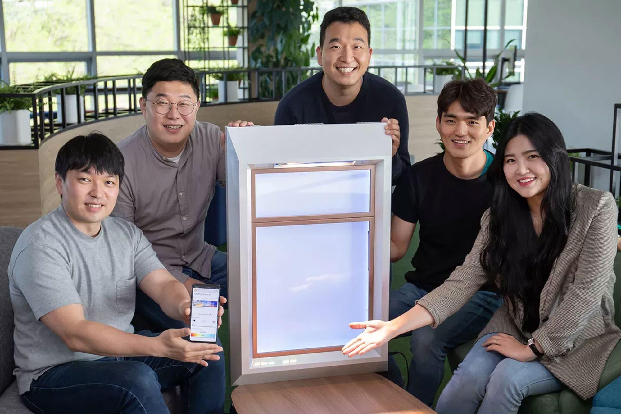 Samsung desarrolla una ventana artificial que emula la luz solar para espacios poco iluminados