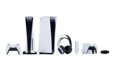La PS5 en sus dos versiones y los accesorios