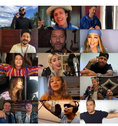 """""""Color esperanza"""" tiene una versión 2020 de cuarentena grabada por un selecto y muy internacional grupo de artistas"""