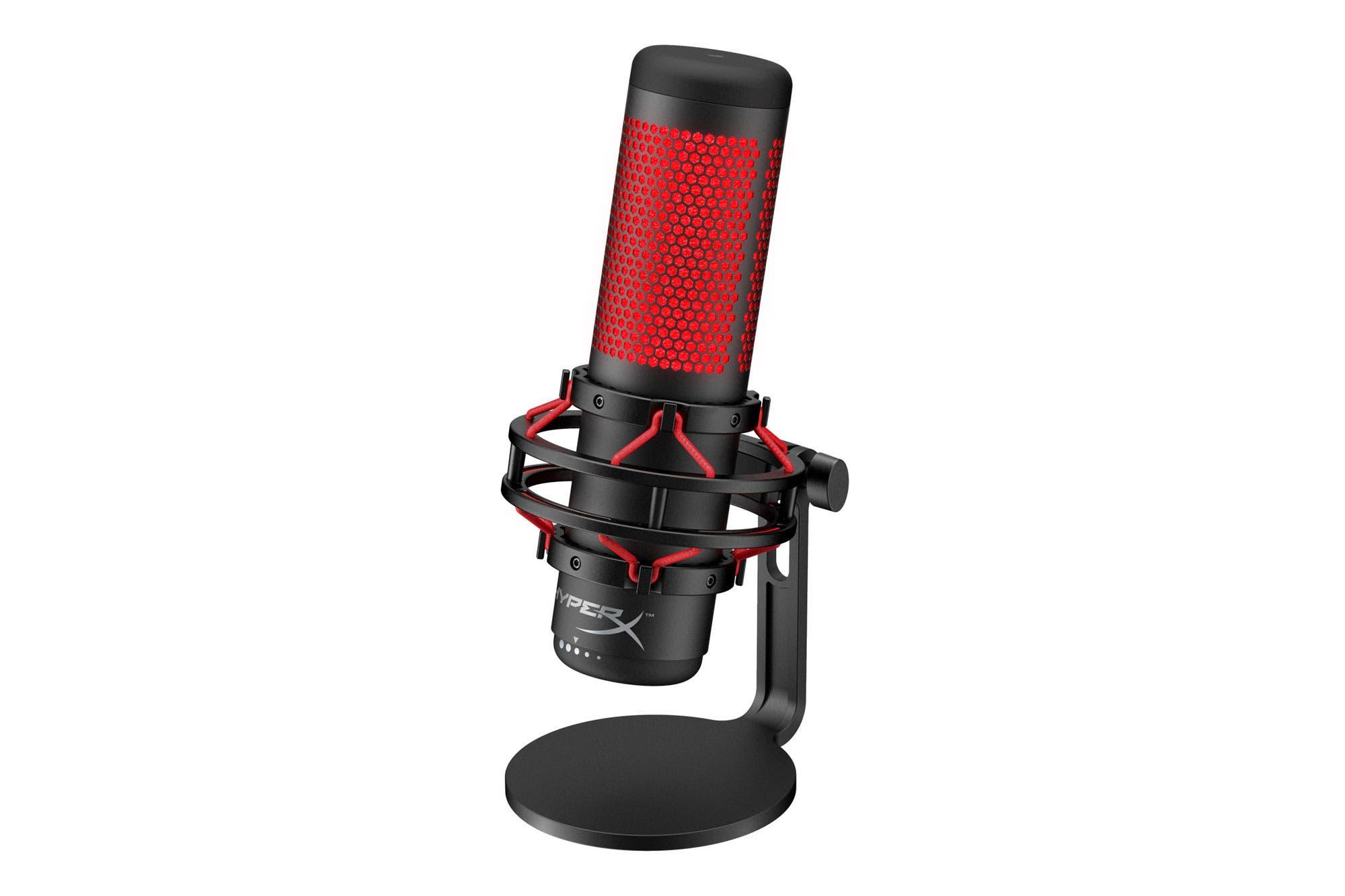 Probamos el Quadcast de HyperX, un versátil micrófono gamer para las transmisiones de videojuegos