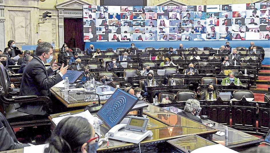 Diputados: el oficialismo presentó un proyecto para habilitar las sesiones remotas de manera permanente