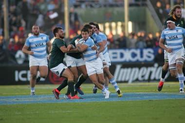 Gonzalo Bertranou, uno de los Pumas que estará en acción en el próximo Rugby Championship