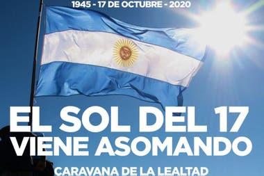 """El peronismo convocó con diferentes consignas a la """"caravana de la Lealtad"""""""