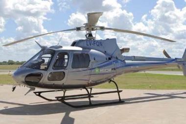 El helicóptero en el que viajaba Jorge Brito cayó en un dique en Salta