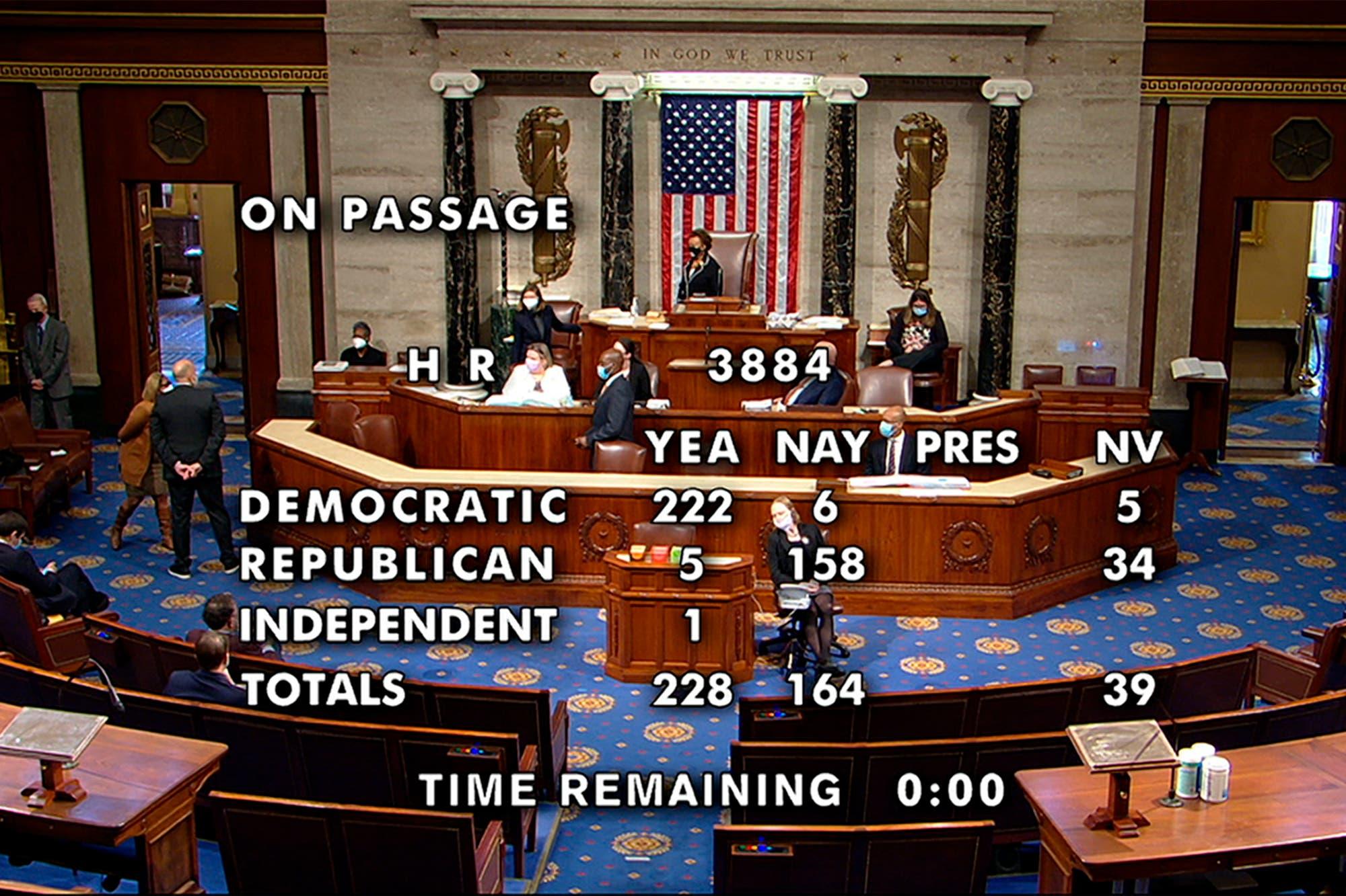 EE.UU.: la Cámara baja dio luz verde a la despenalización de la marihuana y define el Senado