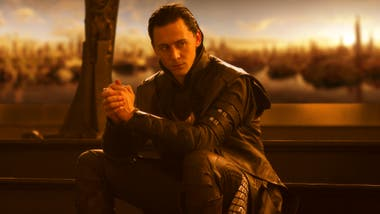 Tom Hiddleston como el Loki de Marvel