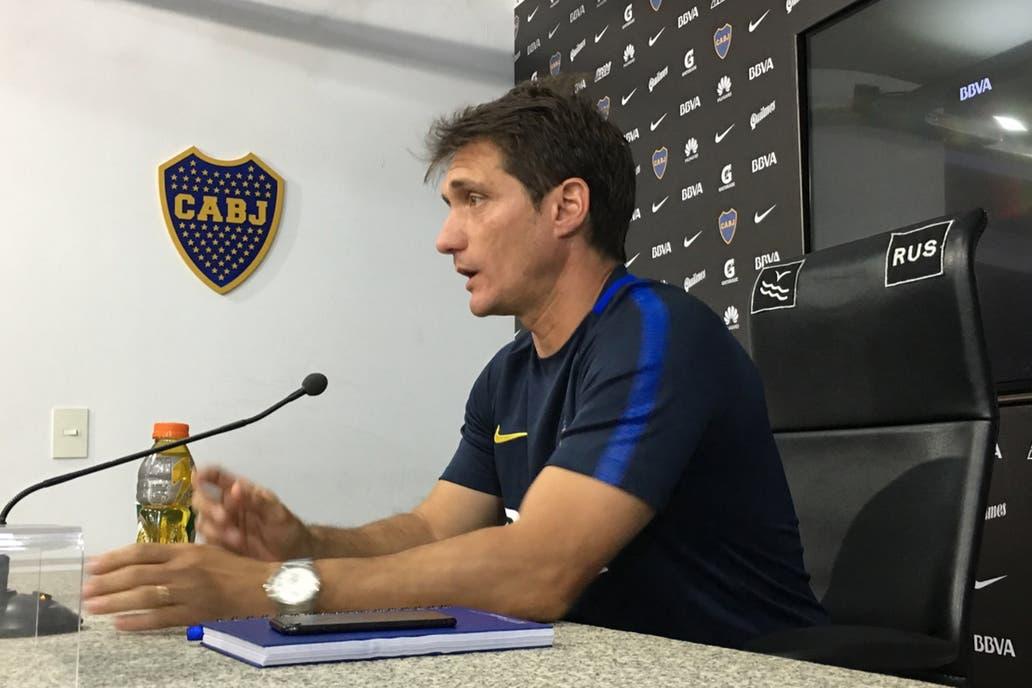 El técnico de Boca bajó el tenor del conflicto con River