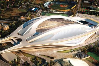 El estadio diseñado por la arquitecta Zaha Hadid será una de las sedes del Mundial 2022 en Qatar.