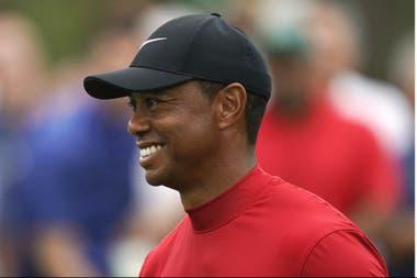 Tiger Woods, otra vez protagonista