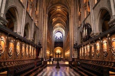 Así era la imponente catedral por dentro