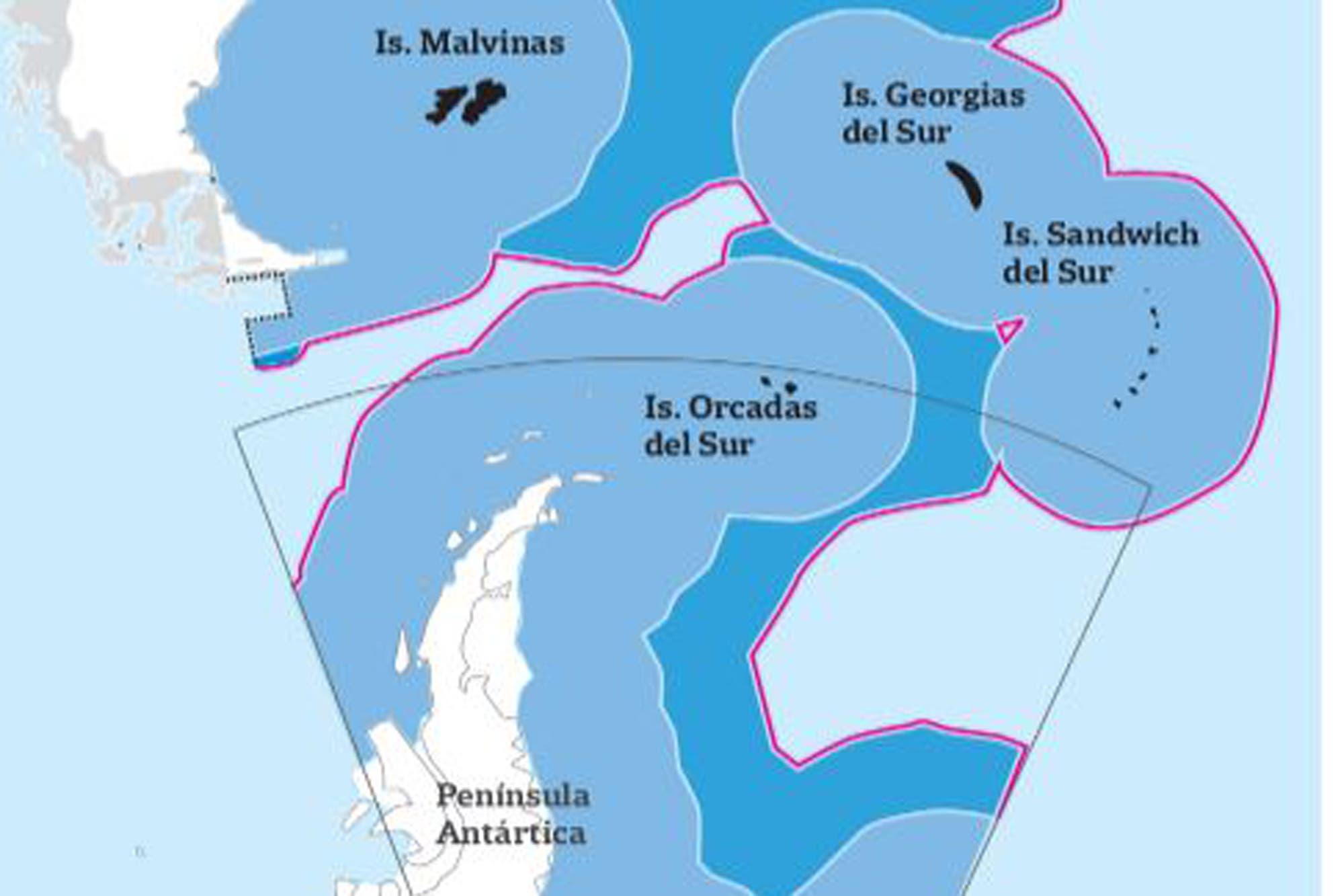 Resultado de imagen para Plataforma continental: cómo se redibujaron los límites para su ampliación