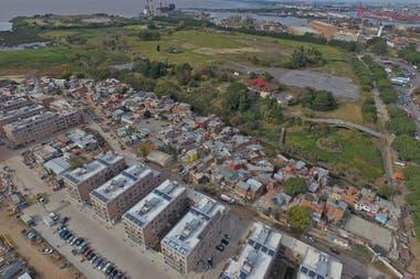Vista de la nueva urbanizacin junto a Villa Rodrigo Bueno