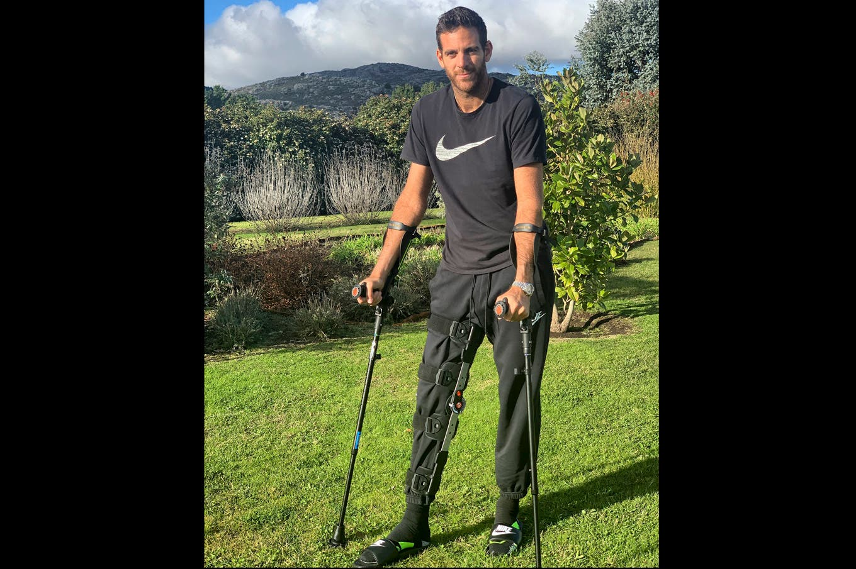 El emotivo mensaje de Roger Federer para Juan Martín del Potro, de regreso a Tandil tras ser operado