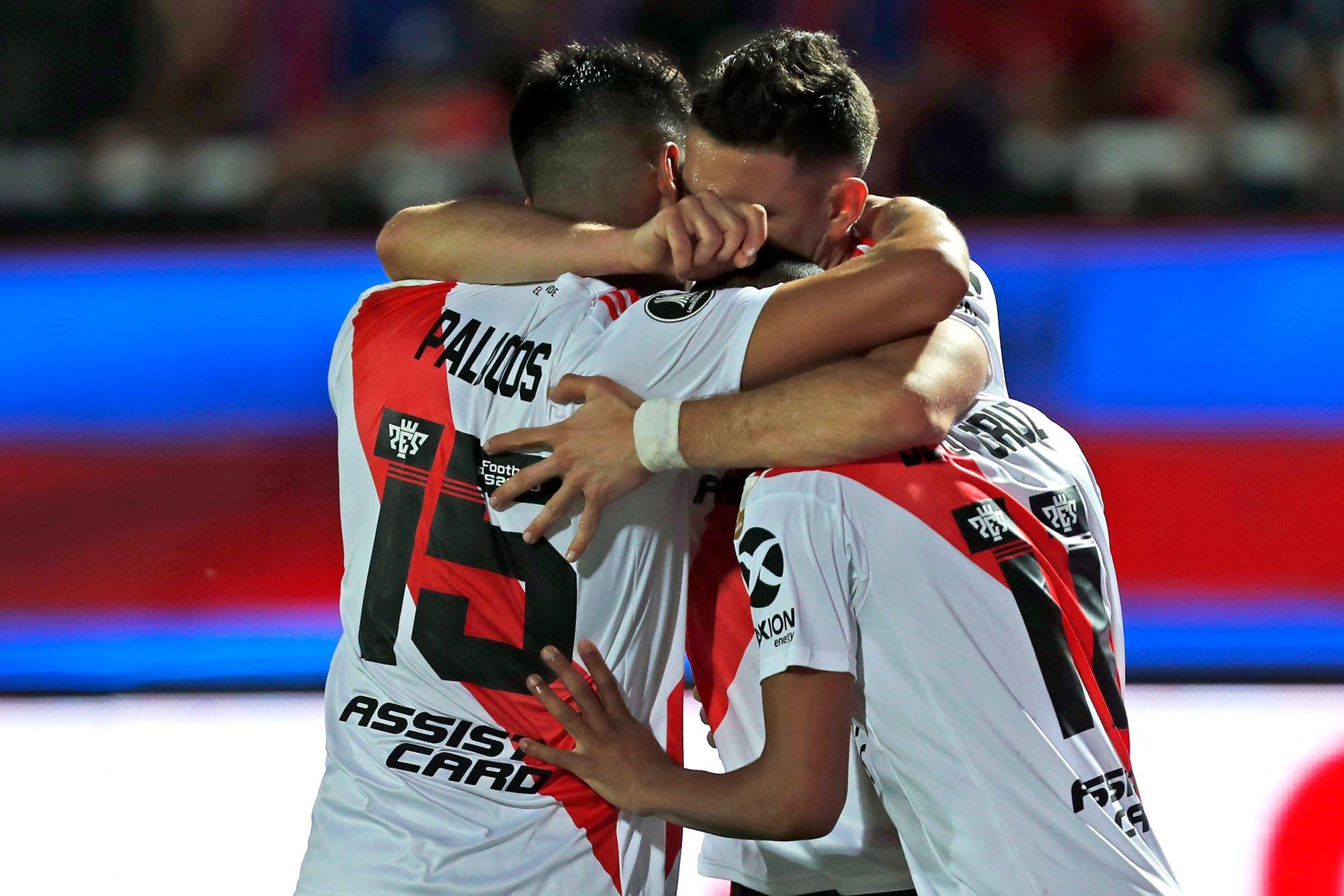 Cerro Porteño-River, por la Copa Libertadores: el millonario lo igualó y se clasifica para jugar con Boca