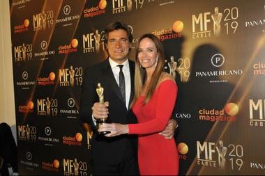 Guillermo Andino y Carolina Prat, pareja y compañeros de equipo