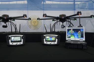 Varios drones son utilizados en pasos fronterizos en el norte